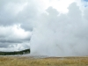 Old Faithful Erupts Yellowstone National Park