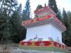 Buddhist Monk temple in Mt. Shasta Forest