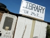 No Dogs Allowed at Slab City Library
