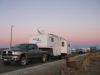 Marfa Lights Viewing Station Free RV Boondocking