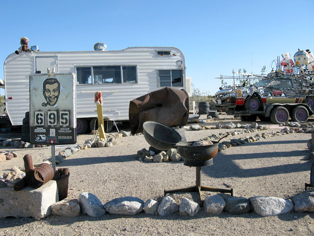 Church of the Sub Genius Slab City Art Camp