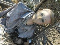 Creepy Doll in Garden of Slab City