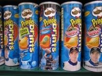 Printed Pringles at the Piggly Wiggly