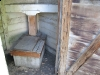 Historic Downtown Fort Collins CO Outhouse