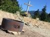 Memorial for Ben on road to Salmon Glacier