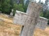 Nelson, BC Cemetery Old RIP Cross headstone