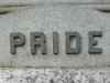 Mt Olivet Cemetery Headstone Pride Epitaph
