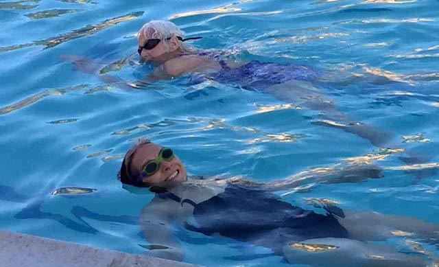 Senior Swim Coach Elena