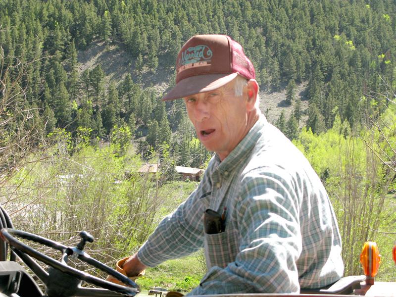 Al Workamping at Vickers dude Ranch