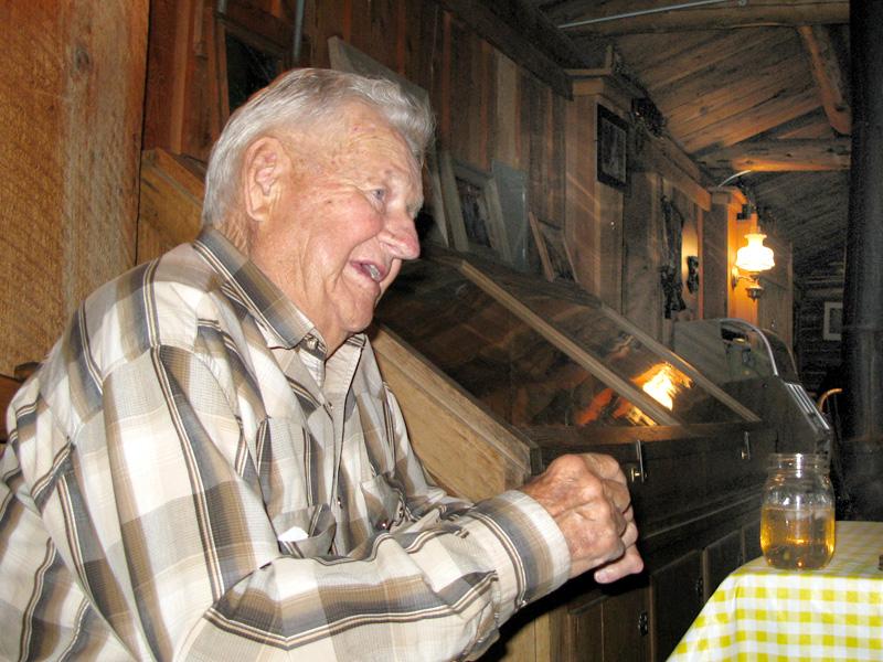 Perk Vickers in Lake City Ranch Rec Hall