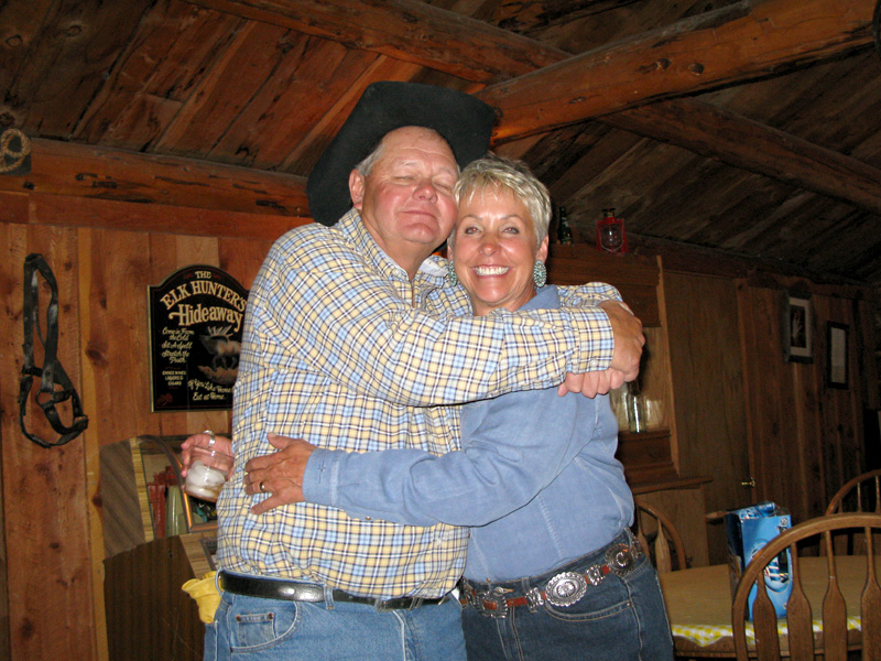 Larry and Paulette Vickers Lake City Colorado