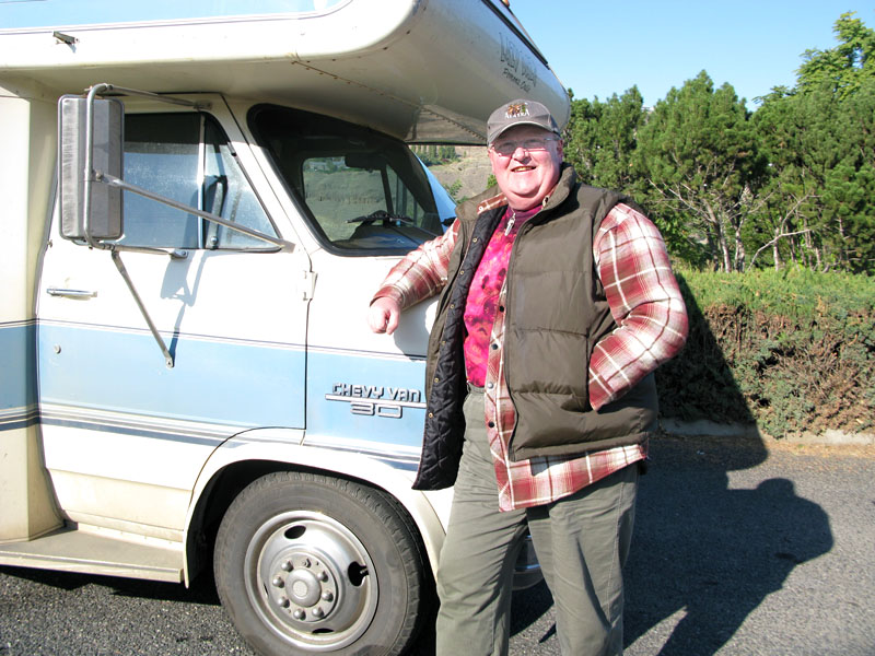 New Zealand Road Tripper Russell Turney