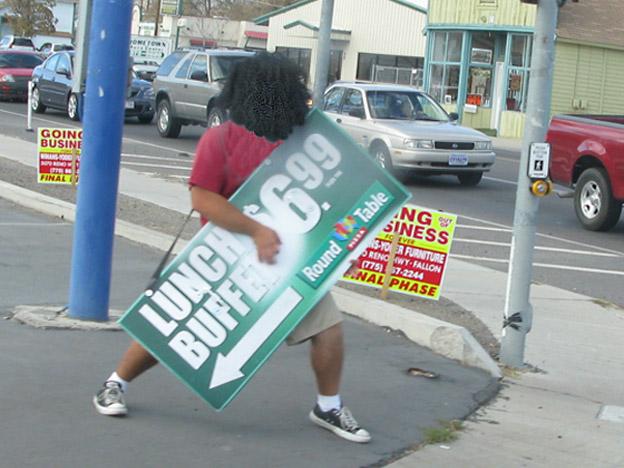jammin dude sidewalk board job