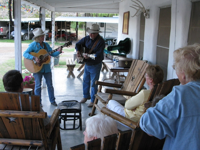 Stillwell Store Porch Music with the Whitfords