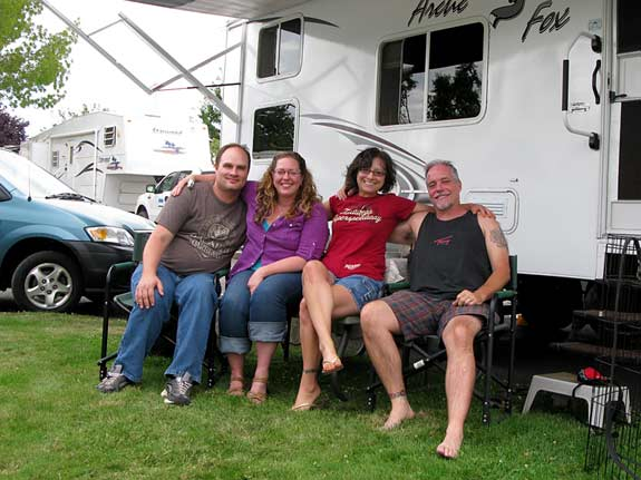 full-time Rving, friends, travel, nomad
