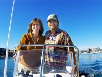 Captain Eric Auckerman and First Mate Julie