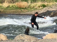 Bend Oregon Deschutes River Surfing