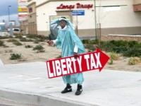 Liberty Tax Man Dancing Fool
