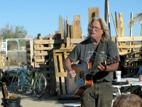 Slab City Solar Potluck Singer