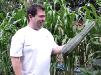 Cousin Robert and His Big Zuchini