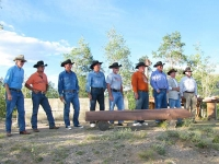 Vickers Ranch Gold Hill Cookout Black Hat Gang