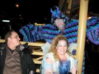 Sully Attacks Fremeont Street Las Vegas Halloween