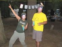 Elvis Theme Party at Shaver Lake