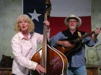 Anne and Eldon Witford, Lajitas Texas