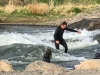 Bend Oregon Deschutes River Surfing