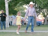 Skinny little cowgirl at the T or C Fiesta