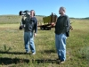 Jim and Barry filming at upper Vickers Ranch