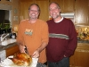 Nelson Brothers Jim and Alec Enjoy Thanksgiving Dinner