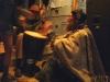 Stick Man Drumming at The Range