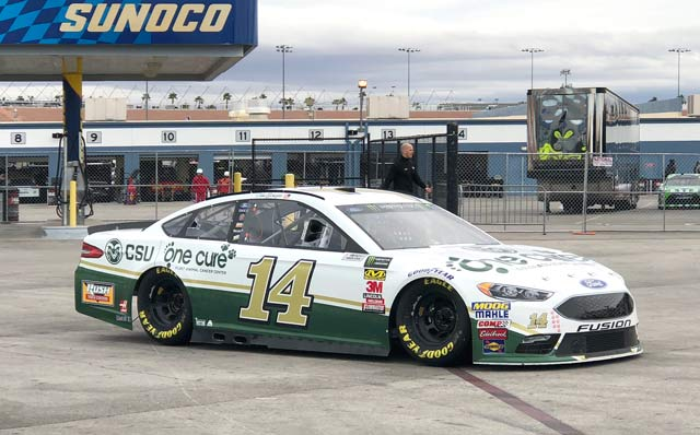 One Cure #14 car.