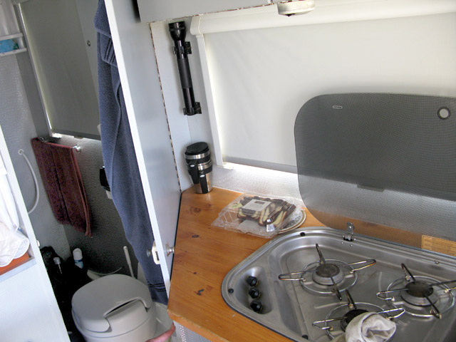 DAF Overlander Expedition Vehicle Interior