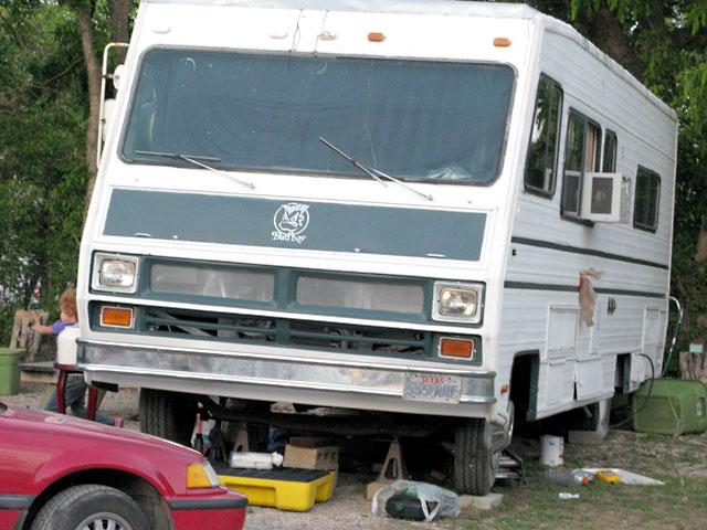 Landa RV Park Resident Bad Boy Camper