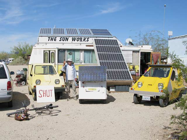 Solar Mike The Sun Works Slab City, CA