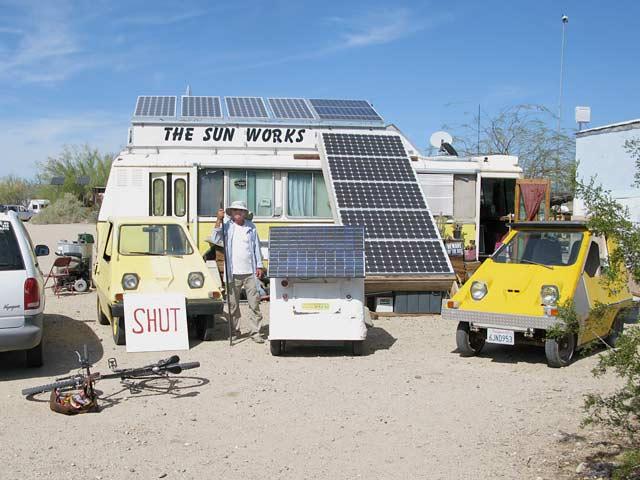 Solar Mike The Sun Works Slab City, CA