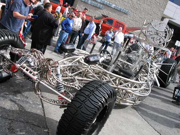 Mad Max Style Of Roard Art Car