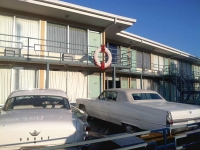 Classic Cars at Civil Rights Museum Memphis TN