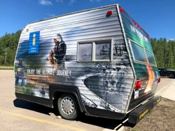 Fort Nelson BC Visitor Centre  Explore Brittish Columbia Camper