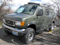 Extreme 4WD Ford Camper Van Conversion