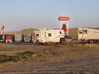 Boondocking at Green River Conoco Gas-n-Go Truck Stop