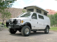Sportsmobile Adventure van Conversion at Capitol Reef Campground