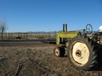 Old John Deer tractor on Arizona Ranch