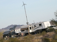 Quartzsite Off Grid RV Encampment