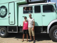 Tao en Ventrouille French Mercedes Overlander