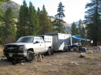 DIY Custom Musher Dog Truck & Trailer