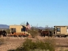 Mule Wagon with Trailer in Gila Bend, AZ