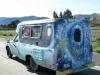 Hippie Love Van in Mendocino, CA